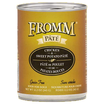 buy Fromm Grain Free Chicken And Sweet Potato Pâté Dog Food
