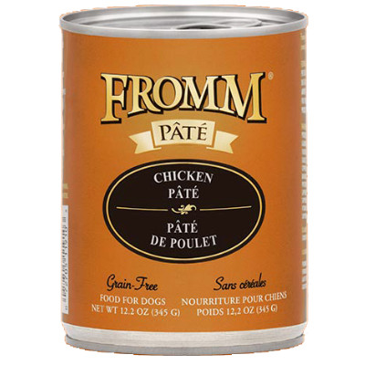 buy Fromm Grain Free Salmon And Chicken Pâté Dog Food