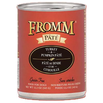 buy Fromm Grain Free Turkey And Pumpkin Pâté Dog Food