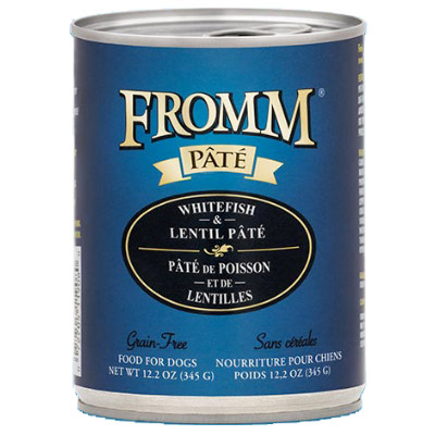 buy Fromm Grain Free Whitefish And Lentil Pâté Dog Food