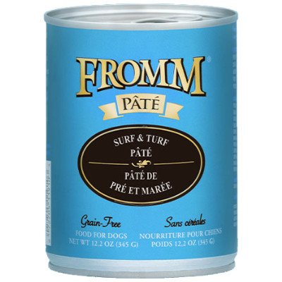buy Fromm-Grain-Surf-And-Turf-Pt-Dog-Food