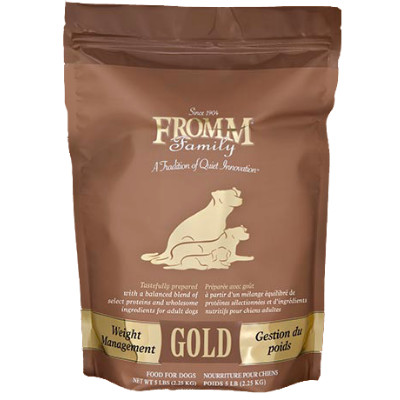 buy Fromm Super Premium Large Breed Weight Management Gold Dog Food