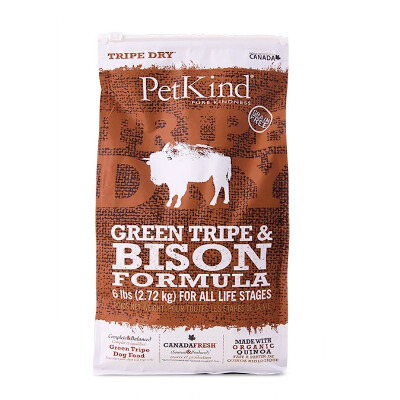 buy PetKind Green Tripe And Bison Dry Dog Food
