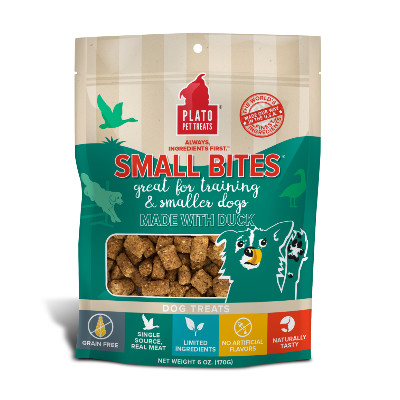 buy Plato-Small-Bites-Slow-Roasted-Duck-Dog-Treats