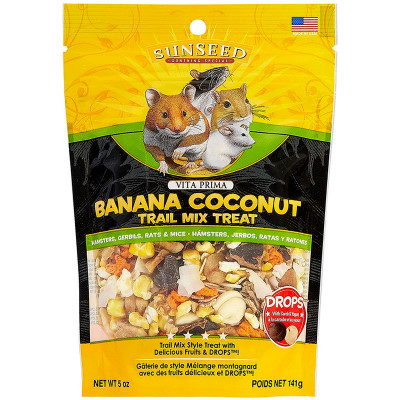buy Sunseed Vita Prima Banana Coconut Trail Mix Treat For Small Animals
