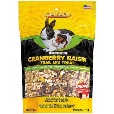 buy Sunseed Vita Prima Cranberry Raisin Trail Mix Treat For Small Animals
