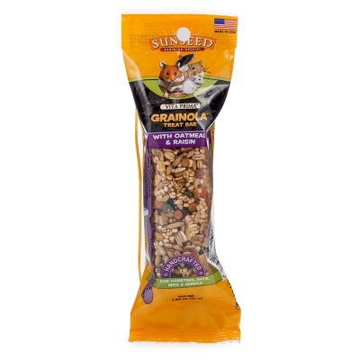 buy Sunseed Vita Prima Grainola Treat Bar With Oatmeal Raisin For Small Animals