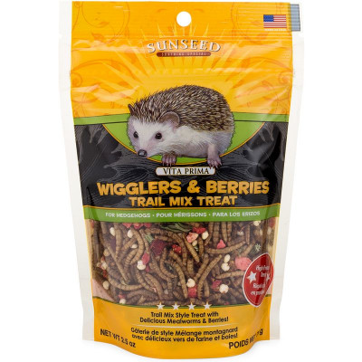 buy Sunseed Vita Prima Wigglers & Berries Trail Mix Treat For Hedgehogs