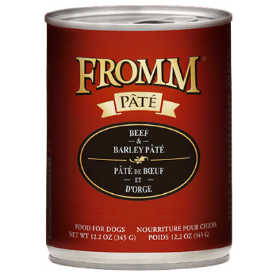 buy fromm-beef-and-barley-pate-dog-food