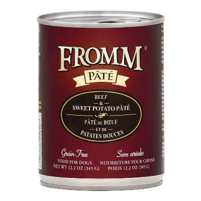 buy fromm-grain-free-beef-and-sweet-potato-pate-dog-food