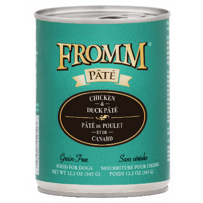 buy fromm-grain-free-chicken-and-duck-pate-dog-food