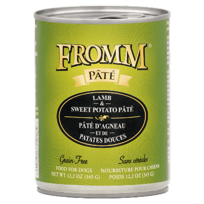 buy fromm-grain-free-lamb-and-sweet-potato-pate-dog-food