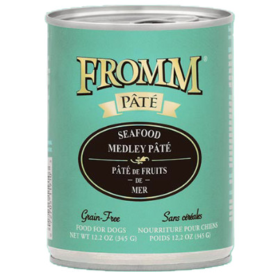buy fromm-grain-free-seafood-medly-pate-dog-food