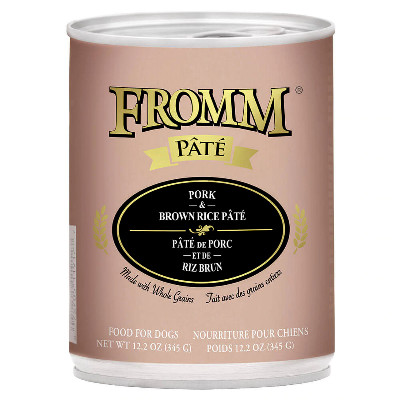 buy fromm-pork-and-brown-rice-pate-dog-food