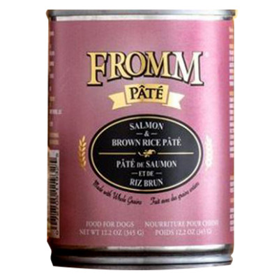 buy fromm-salmon-and-rice-pate-dog-food