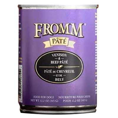 buy fromm-venison-and-beef-pate-dog-food