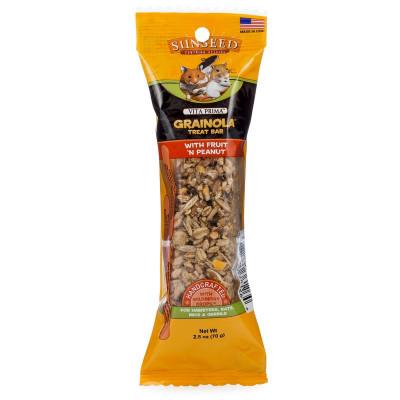 buy sunseed-vita-prima-grainola-treat-bar-with-fruit-n-peanut-for-small-animals