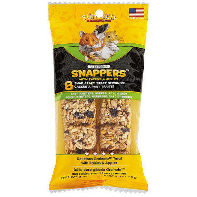 buy sunseed-vita-prima-snappers-with-raisons-and-apples-for-small-animals