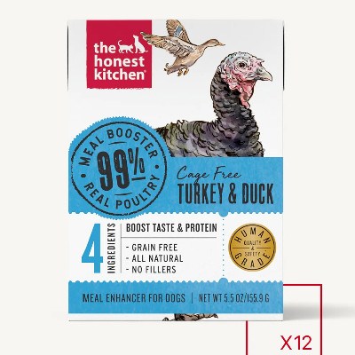 buy the-honest-kitchen-99%-meat-protein-booster-turkey-and-duck-toppers