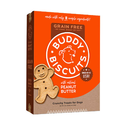 buy Cloud-Star-Buddy-Biscuits-Grain-Free-Oven-Baked-Treats-Peanut-Butter