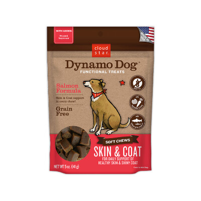 buy Cloud-Star-Dynamo-Soft-Chews-Skin-And-Coat-Salmon-For-Dogs
