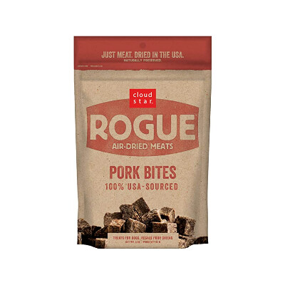 buy Cloud-Star-Rogue-Air-Dried-Meats-Pork-Bites-For-Dogs