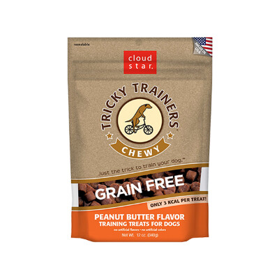 buy Cloud-Star-Tricky-Trainers-Grain-Free-Chewy-Peanut-Butter-Treats-For-Dogs