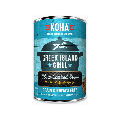 buy Koha-Greek-Island-Grill-Slow-Cooked-Stew-Chicken-And-Pork-For-Dogs