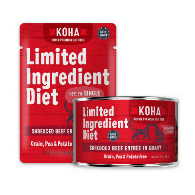buy Koha-Ingredient-Diet-Shredded-Beef-Entre-in-Gravy-For-Cats