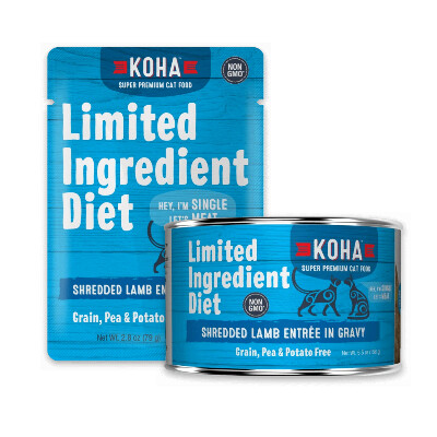 buy Koha-Ingredient-Diet-Shredded-Lamb-Entre-in-Gravy-For-Cats