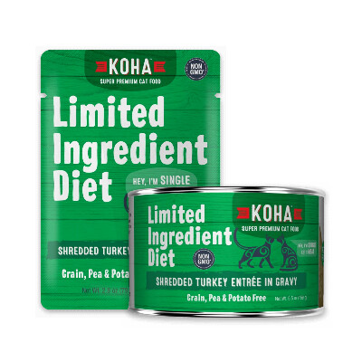 buy Koha-Ingredient-Diet-Shredded-Turkey-Entre-in-Gravy-For-Cats