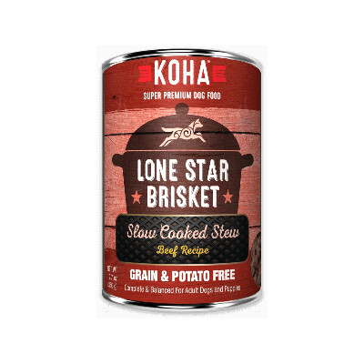 buy Koha-Lone-Star-Brisket-Slow-Cooked-Stew-Chicken-And-Pork-For-Dogs