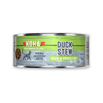 buy Koha-Minimal-Ingredient-Duck-Stew-For-Cats