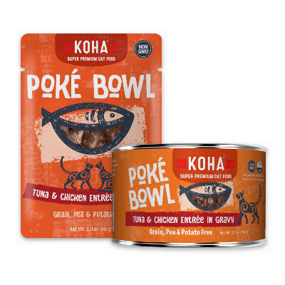 buy Koha-Pok-Bowl-Tuna-And-Chicken-Entre-in-Gravy-For-Cats