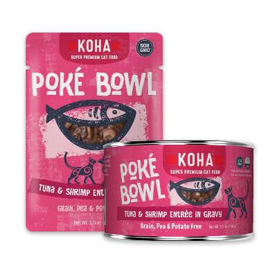 buy Koha-Pok-Bowl-Tuna-And-Shrimp-Entre-in-Gravy-For-Cats