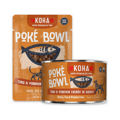 buy Koha-Pok-Bowl-Tuna-Pumpkin-Entre-in-Gravy-For-Cats