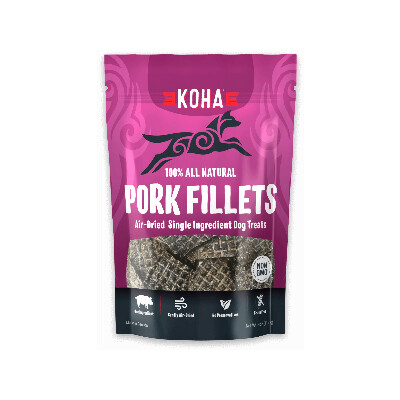 buy Koha-Pork-Fillets-All-Natural-Treats-For-Dogs