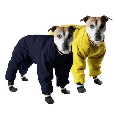 buy Muttluks-Apparel-Reversible-Snowsuit-For-Dogs-Black-Yellow
