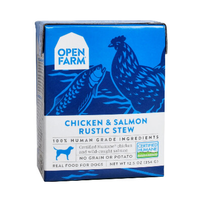 buy Open-Farm-Chicken-and-Salmon-Rustic-Stew-Dog-Food