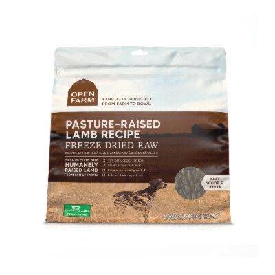 buy Open-Farm-Freeze-Dried-Dog-Food-Pasture-Raised-Lamb-Recipe