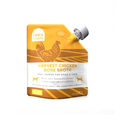 buy Open-Farm-Harvest-Chicken-Bone-Broth-For-Pets