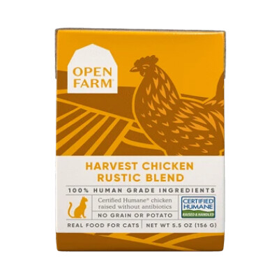 buy Open-Farm-Harvest-Chicken-Rustic-Blend-Dry-Cat-Food