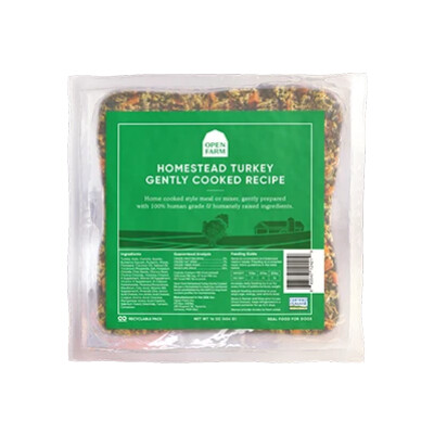 buy Open-Farms-Ready-To-Eat-and-Gently-Cooked-Homestead-Turkey-Dog-Food