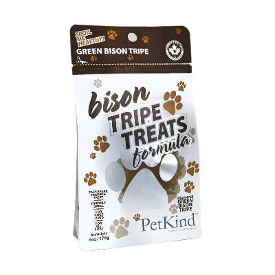 buy PetKind Green Bison Tripe Treats For Dogs