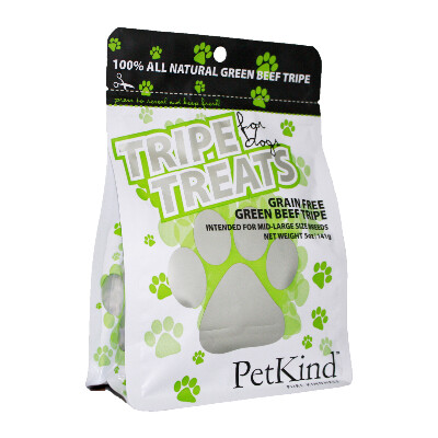 buy PetKind Pure Green Tripe Treats For Dogs