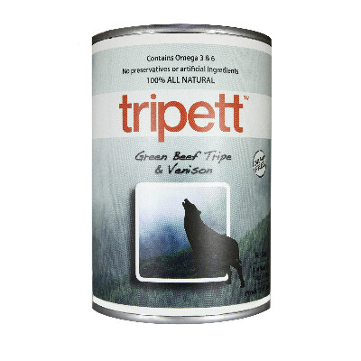 buy PetKind-Tripett-Green-Beef-Tripe-With-Venison-For-Dogs