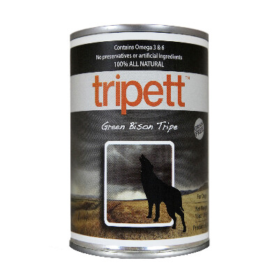 buy PetKind Tripett Green Bison Tripe For Dogs