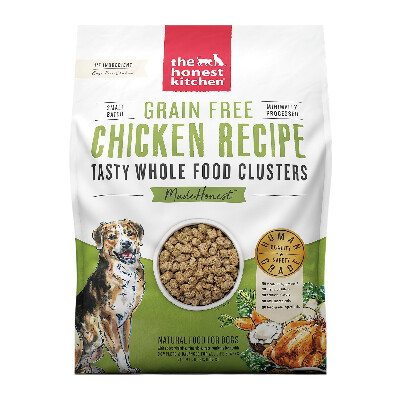 buy The-Honest-Kitchen-Chicken-Tasty-Whole-Food-Clusters-Dog-Food