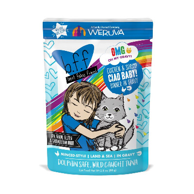 buy Weruva-BFF-OMG-Ciao-Baby-Chicken-Shrimp-Cat-Food
