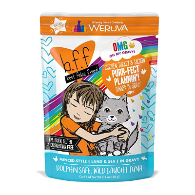 buy Weruva-BFF-OMG-Purr-fect-Plannin-Chicken-Turkey-Salmon-Cat-Food